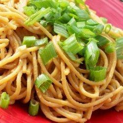'sesame' Noodles With Peanut Sauce recipe