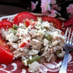 Tuna and Green Beans With Rice recipe
