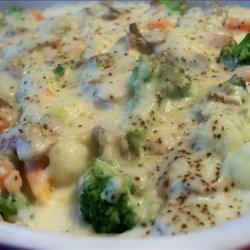 Broccoli Cauliflower Tetrazzini recipe