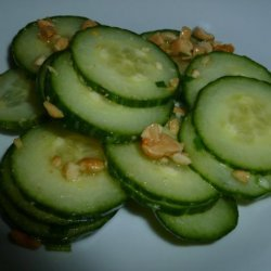 Nutty Cucumber Salad recipe