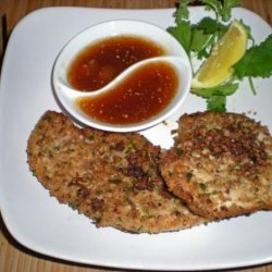 Chicken Filets With Pecan or Walnut Crust recipe