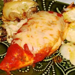 Saucy Mozzarella Chicken recipe