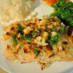 Salmon With a Macadamia Nut Crust recipe