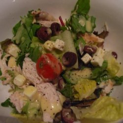 Chopped Greek Salad With Chicken recipe