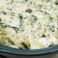 My Hot Spinach and Artichoke Dip recipe