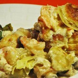 Shrimp Artichoke Casserole recipe