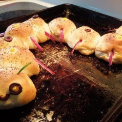 Meatball Creepy Crawlers recipe