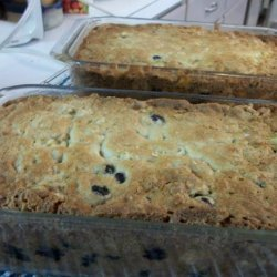 Blueberry Banana Nut Oatmeal Bread recipe
