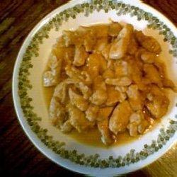Mandarin Chicken Tenders recipe