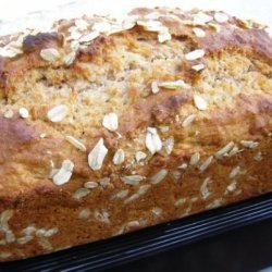 Honey Oat Quick Bread recipe