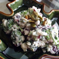 Broccoli Salad With Feta recipe