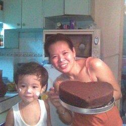 Super Easy Fudgy Mini Chocolate Cakes recipe