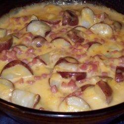 Skinny Bride's Guide to Ham and Potato Casserole recipe