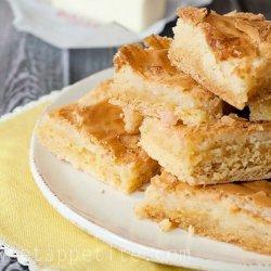 Butter Bars recipe