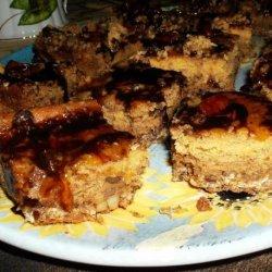 Pumpkin Streusel Cheesecake Bars (Cookie Mix) recipe