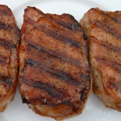 Sweet & Tangy Grilled Pork Chops recipe