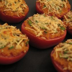 Broiled Tomatoes With Horseradish recipe