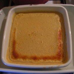 Lemon Buttermilk Pudding Cake With Fresh Berries recipe