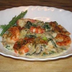Special Shrimp Casserole recipe