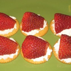 Strawberry Cream Cheese Snacks recipe