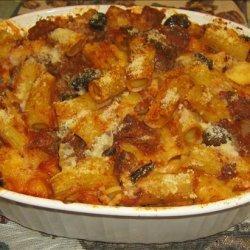 Baked Rigatoni With Kalamata Olives recipe
