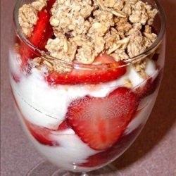 Strawberry Brunch Parfait recipe