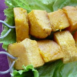 Butternut Squash Kabobs recipe