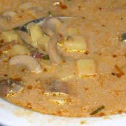 Croatian Mushroom Soup recipe