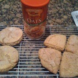 Scottish Buttermilk Steel Cut Oat Scones recipe