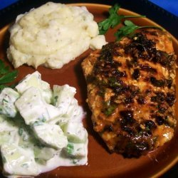 Grilled Salmon With Cucumber Salad (Australia) recipe