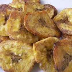 Plantain Chips (Platanutres) recipe