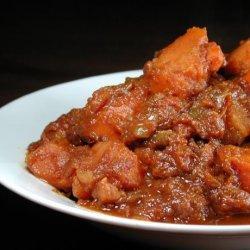 Moroccan Vegetarian Sweet Potato Stew recipe
