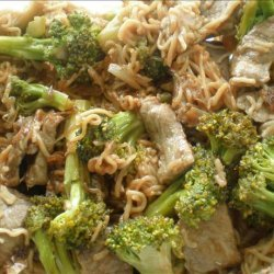 Beef-Broccoli Lo Mein recipe