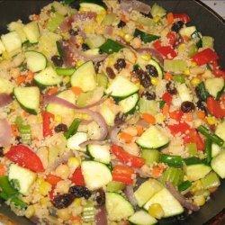 Not so Spontaneous Couscous recipe