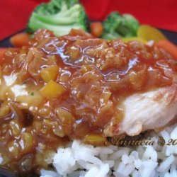 Grilled Chicken With Saffron and Apricots recipe
