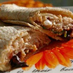 Chicken Tortilla Wrap Sandwich recipe
