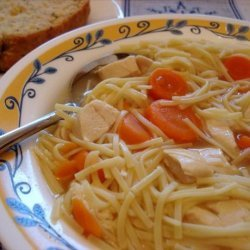 Cheater's Chicken Noodle Soup recipe