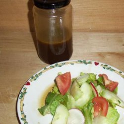 My Uncle's Soy Sauce Salad Dressing recipe
