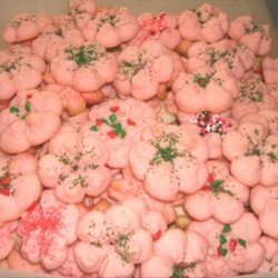 Super Shooter Whipped Shortbread Spritz Cookies recipe