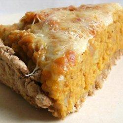 Sweet Potato (Kumara) and Lentil Pie recipe