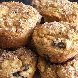 Blueberry Lemon Muffins  (With Yellow Squash) recipe