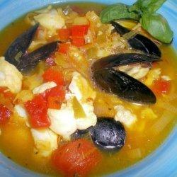 Fish Soup Provencale recipe