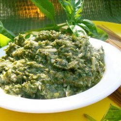 How to Easily Make Pesto from Fresh Basil recipe