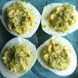 Parker's Deviled Eggs recipe