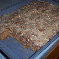 Sarah 's Oatmeal Cake With Coconut Pecan Frosting recipe