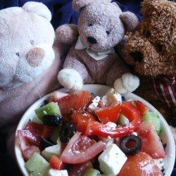 It's All Greek to Me Tomato Salad recipe