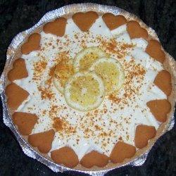 Lemon Jello Fluff Pie recipe