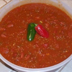 Christmas Chili recipe