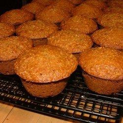 Oat Bran Applesauce Muffins recipe