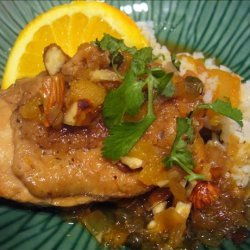 Lucky Chicken With Oranges recipe
